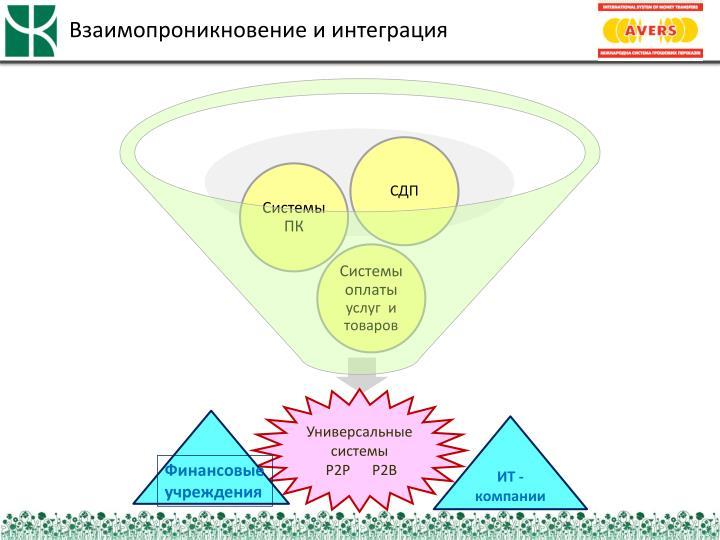 Взаимопроникновение и интеграция