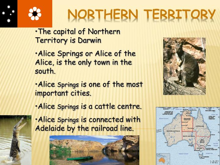The capital of Northern Territory is Darwin