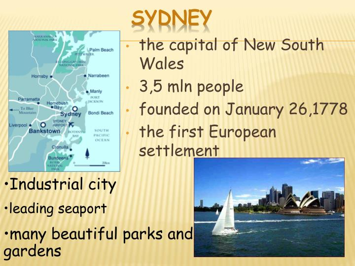 the capital of New South Wales