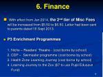 6 finance