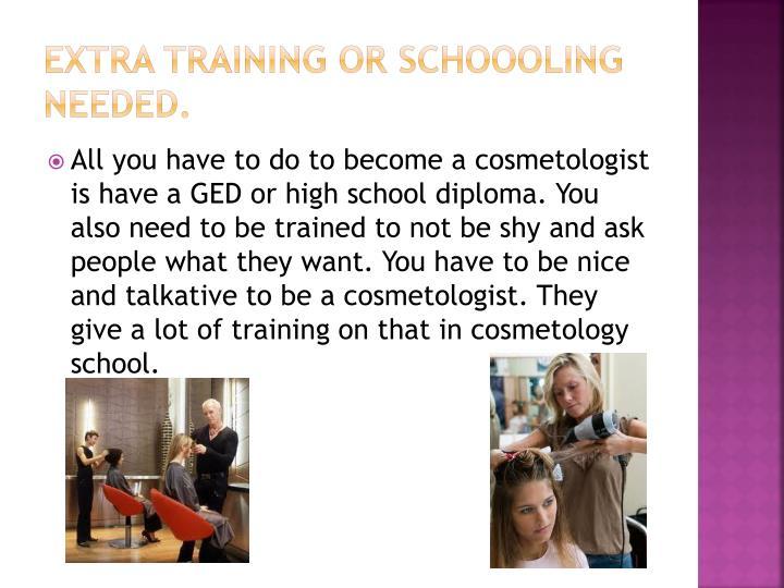 Extra Training or