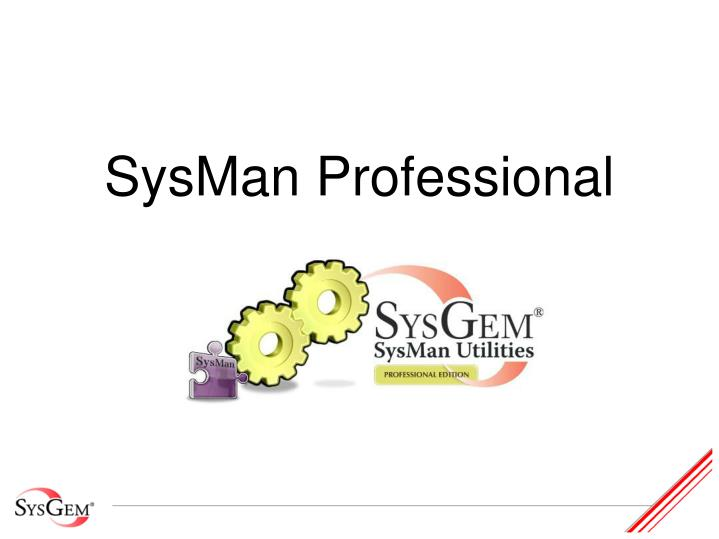 Sysman professional