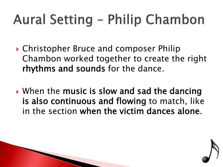 Aural Setting – Philip
