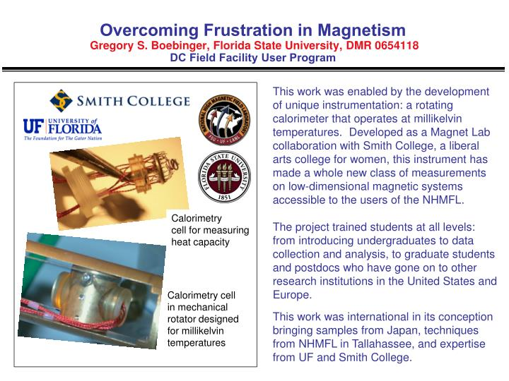 Overcoming Frustration in Magnetism