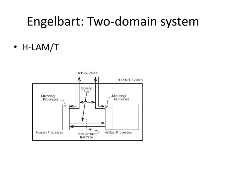 Engelbart: Two-domain system
