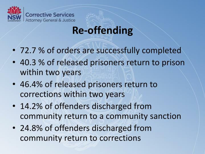 Re-offending