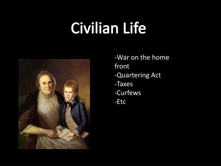 Civilian Life