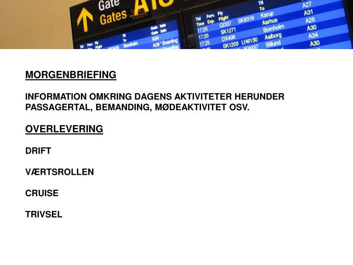 MORGENBRIEFING