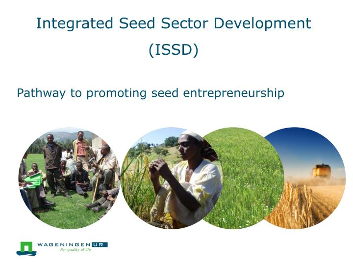 Integrated seed sector development issd