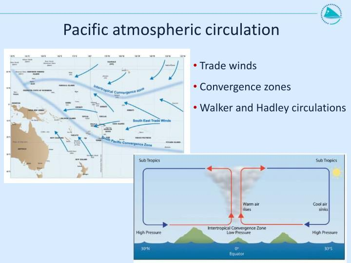 Pacific atmospheric circulation