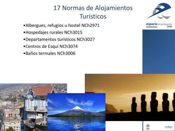 17 Normas de Alojamientos