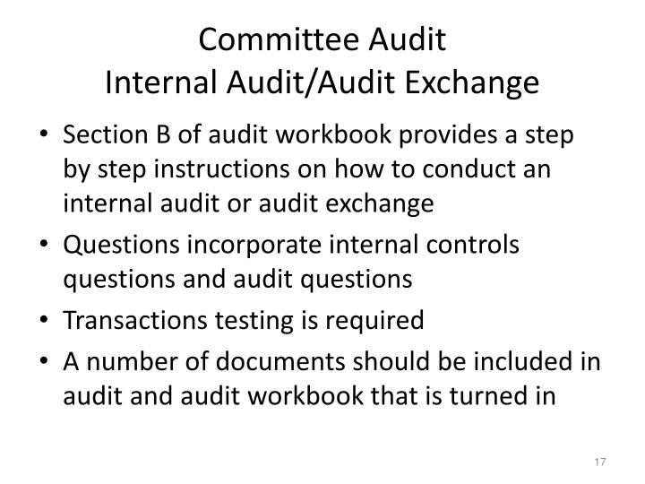 Committee Audit