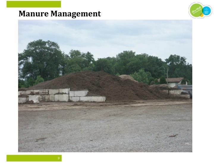 Manure Management