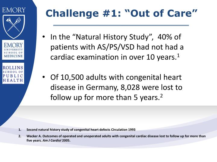 """Challenge #1: """"Out of Care"""""""