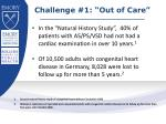 challenge 1 out of care