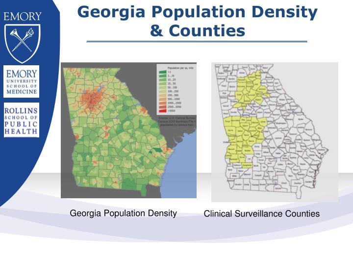 Georgia Population Density