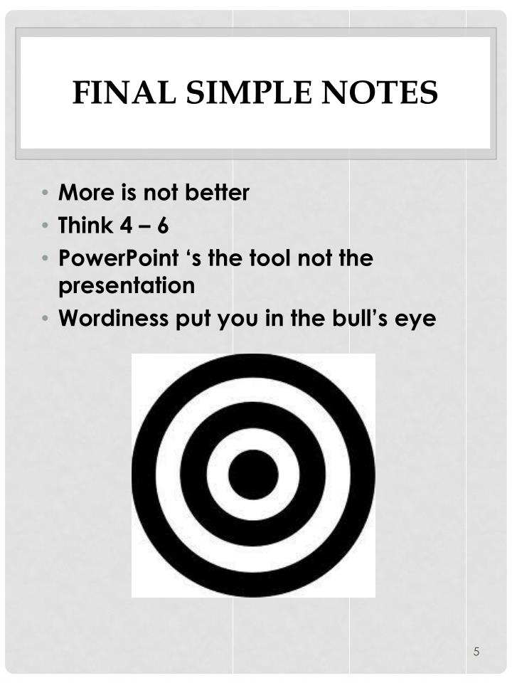 Final Simple Notes