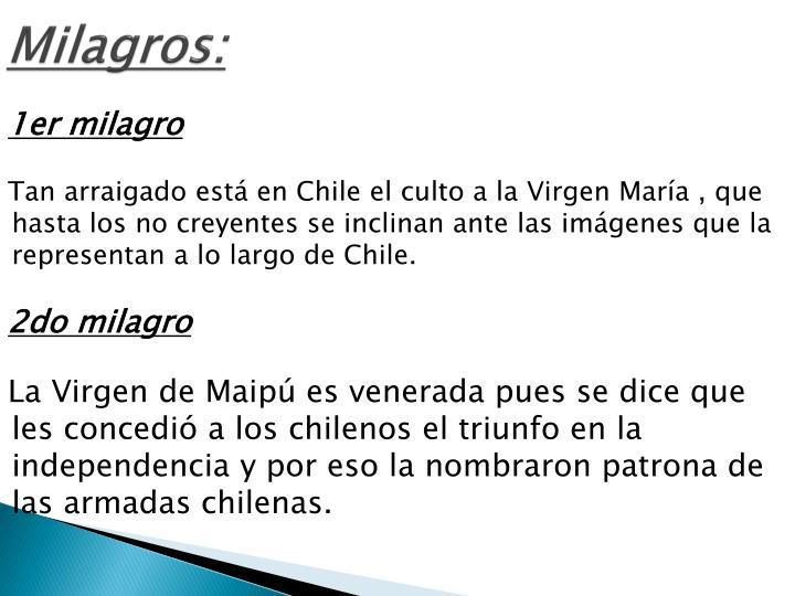 Milagros: