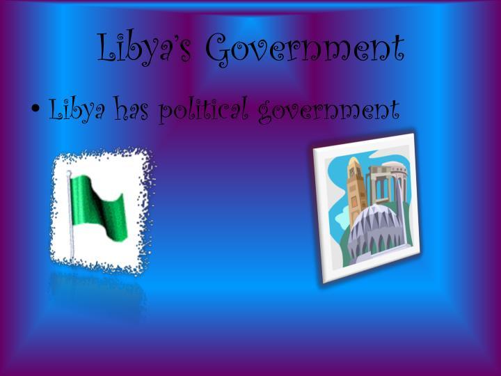 Libya's Government