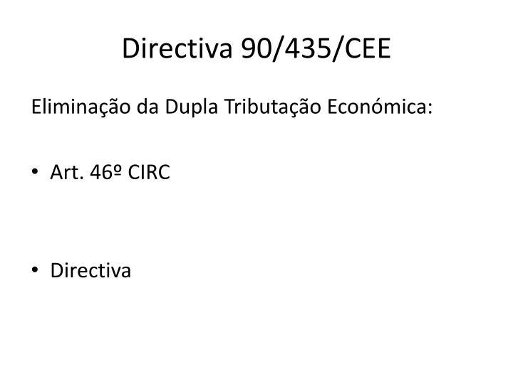 Directiva 90/435/CEE