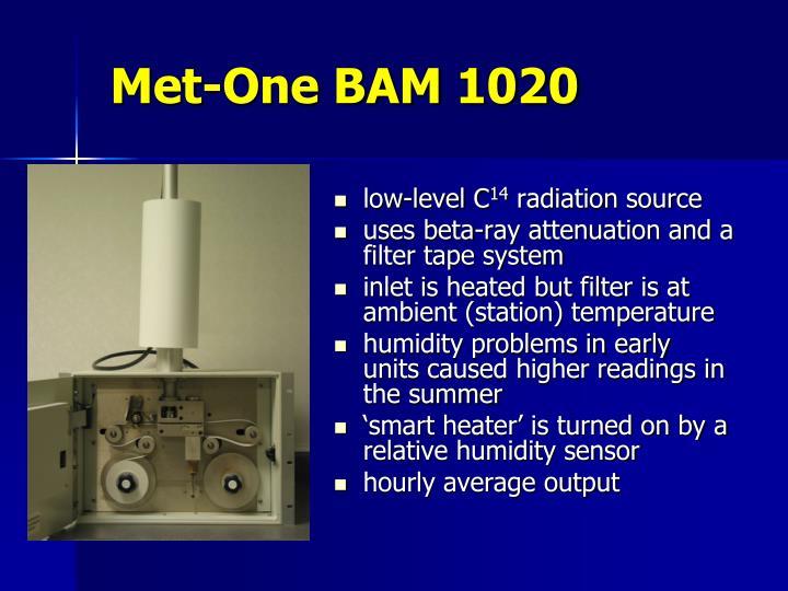 Met-One BAM 1020