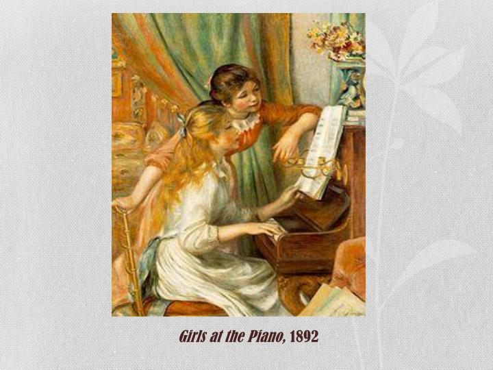 Girls at the Piano,