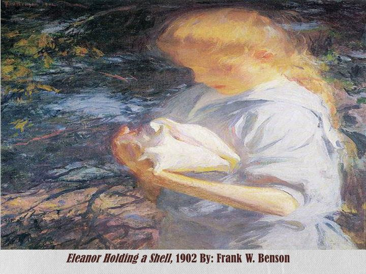 Eleanor Holding a Shell,