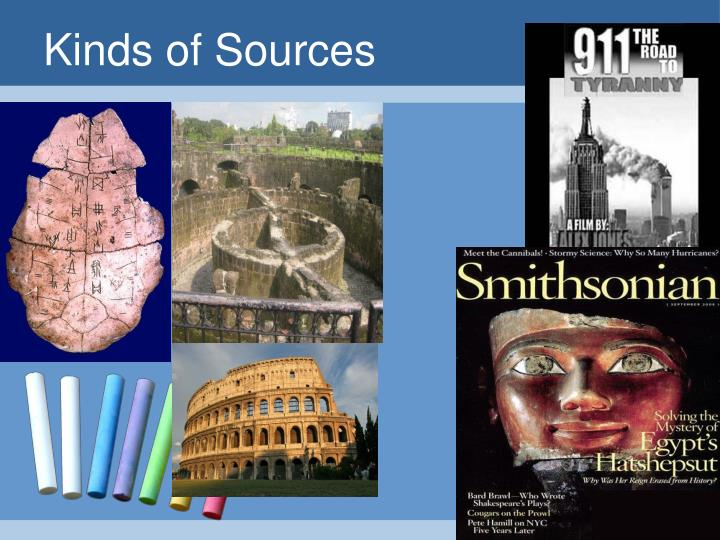Kinds of Sources