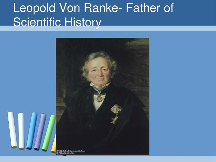 Leopold Von Ranke- Father of Scientific History