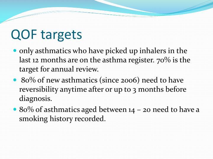 QOF targets