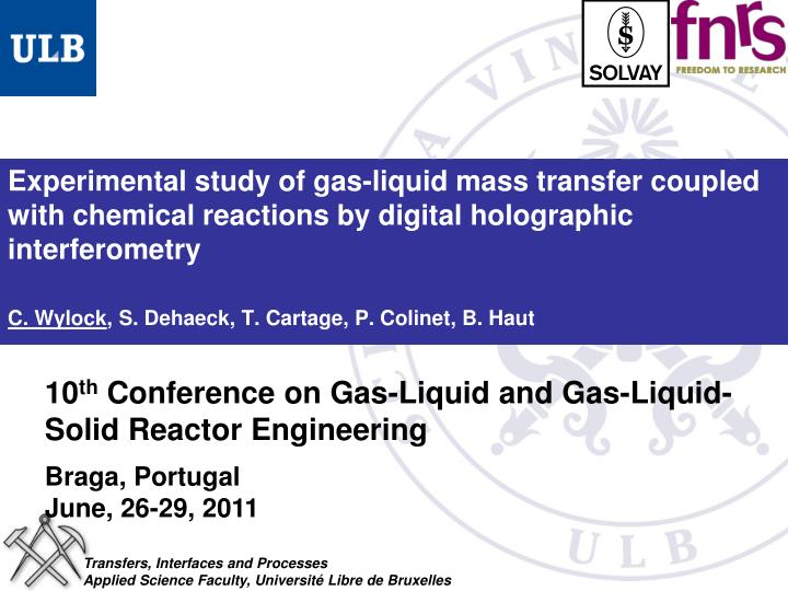 Experimental study of gas-liquid mass transfer coupled with chemical reactions by digital holographi...