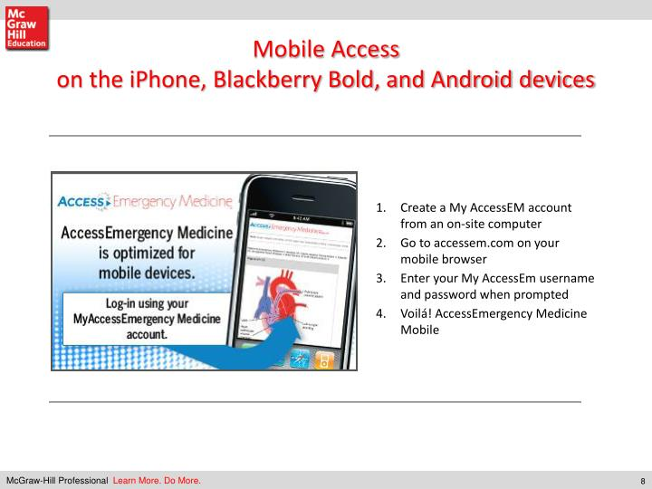 Mobile Access