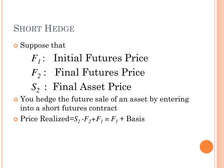 Short Hedge