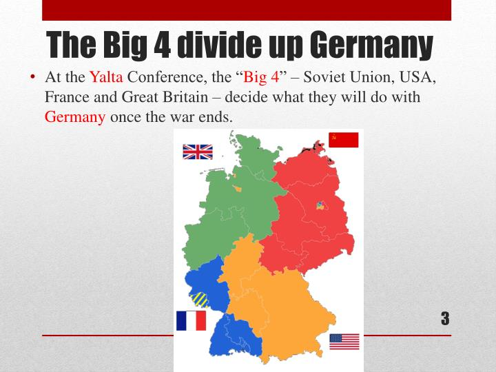 The big 4 divide up germany