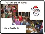 actions for children