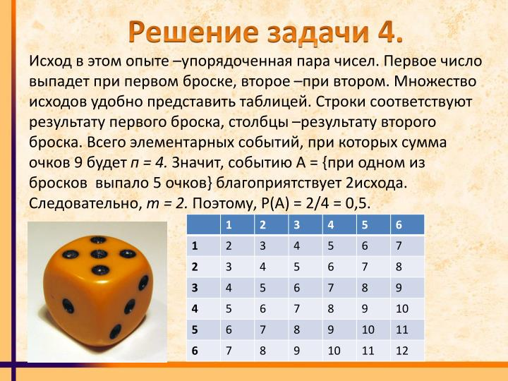 Решение задачи 4.