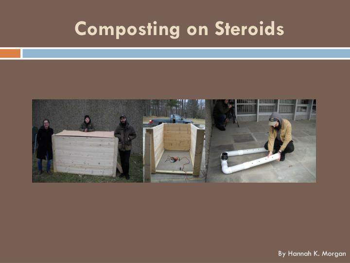Composting on steroids