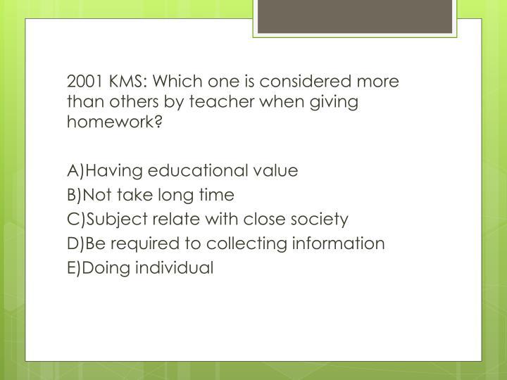is giving homework effective