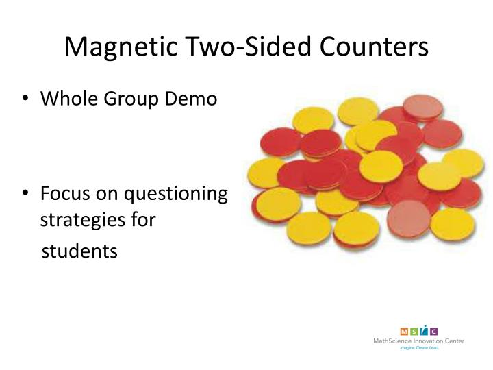 Magnetic Two-Sided Counters