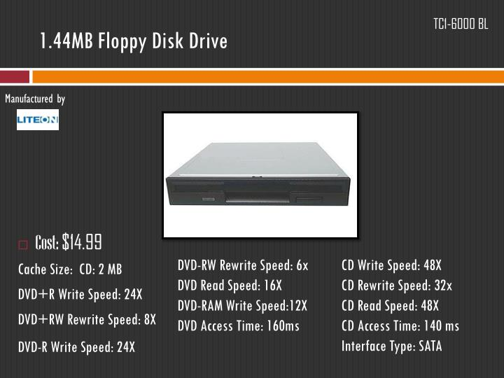 1.44MB Floppy Disk Drive