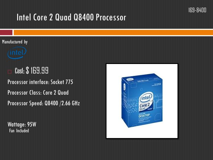 Intel Core 2 Quad Q8400 Processor