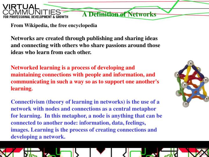 A Definition of Networks