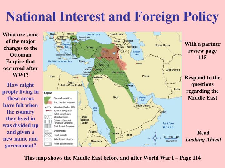 National Interest and Foreign Policy