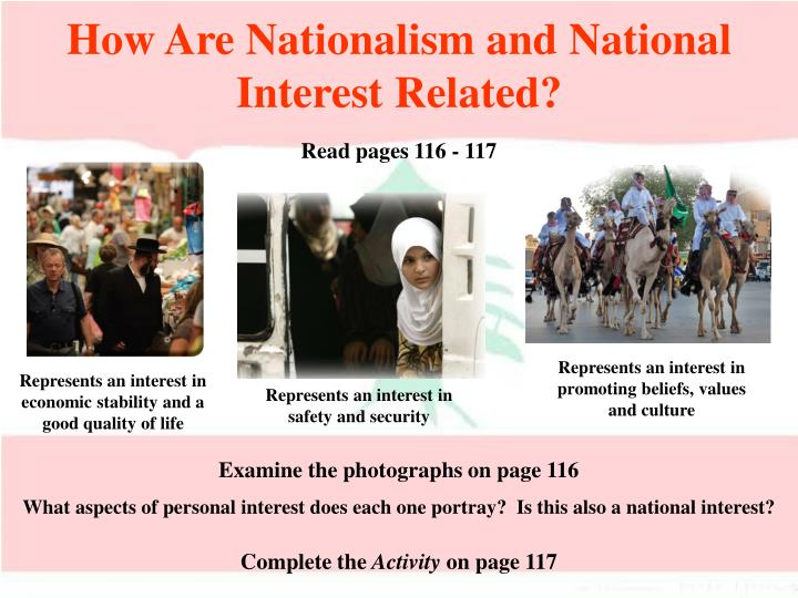 How Are Nationalism and National Interest Related?