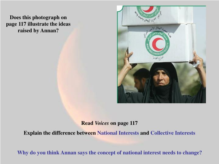 Does this photograph on page 117 illustrate the ideas raised by Annan?