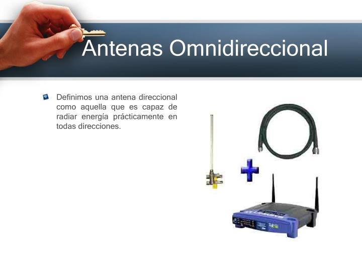 Antenas Omnidireccional