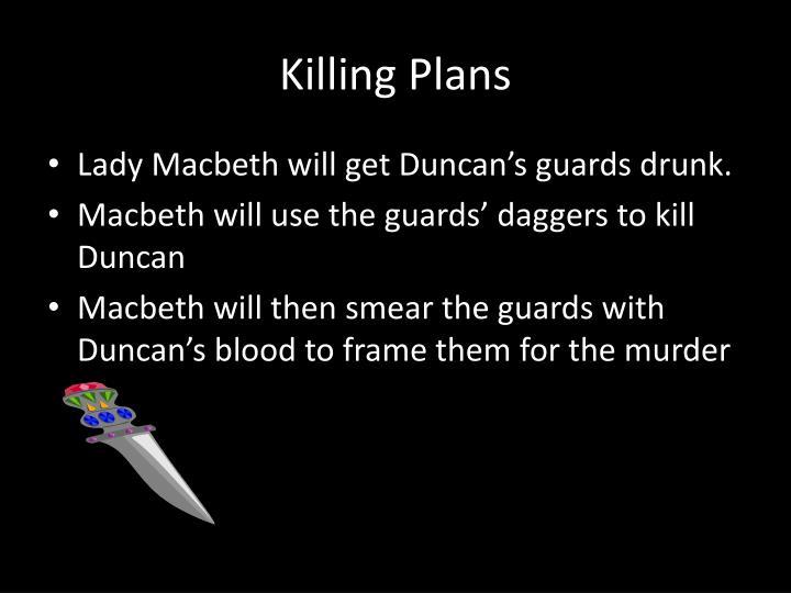 Killing Plans