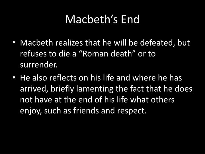 Macbeth's End