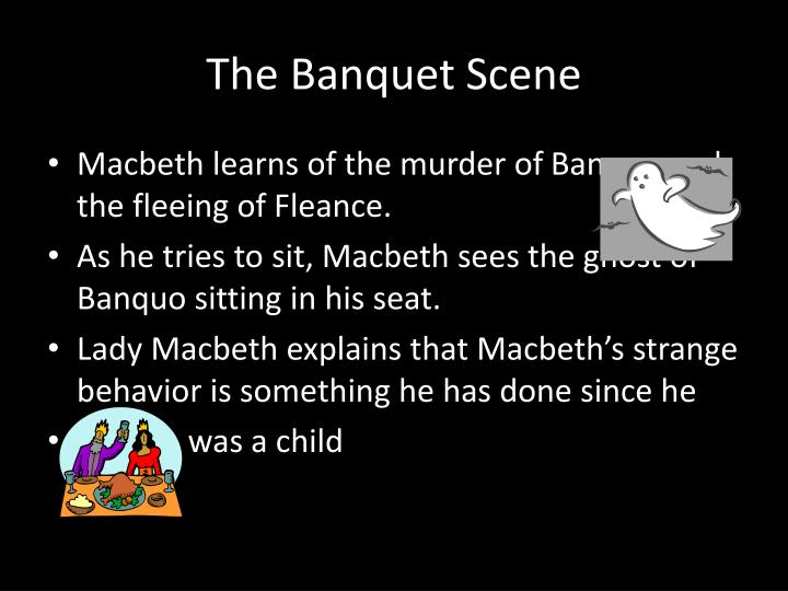 The Banquet Scene