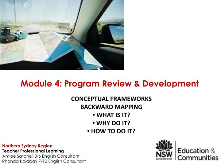 Conceptual frameworks backward mapping what is it why do it how to do it